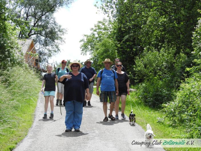 Wanderwochenende des Campingclub Zollernalb e.V.